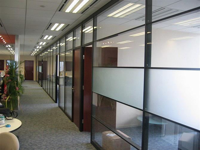 六合区玻璃隔断安装